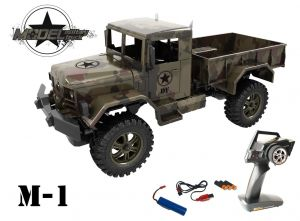 M1 Military Truck 1 : 12 - 100 % RTR