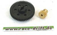 6078-3 df Hauptzahnrad PVC  und Stahlzahnrad 15 Zähne 3 mm Wellendurchmesseret M 0,8 6118