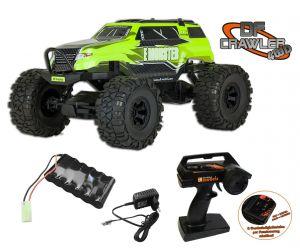df Crawler PickUp 1:10 - 4WD - RTR - GELB 3096