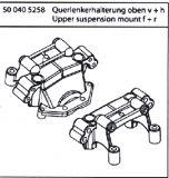 500405258  Querlenkerhalter oben v+H FY10 FY8 FY5