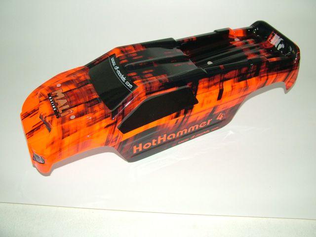 6168 karosserie hot hammer 4 und 5 passend rot. Black Bedroom Furniture Sets. Home Design Ideas