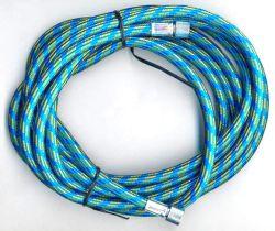 Airbrushschlauch blau   Fengda BD-24 1,80m - G1/8-G1/8 Gewindeanschluss Innengewinde