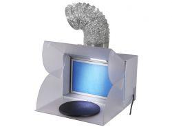 Tragbarer Spritzbox Absaugbox  mit Farb  Absaugen Fengda BD-512 Nicht für Lösemittelhaltige Farbe