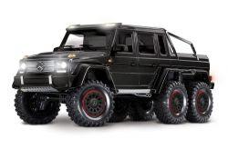 MERCEDES-BENZ G63 AMG 6X6 RTR OHNE AKKU/LADER INKL LICHT 1/10 6WD SCALE-CRAWLER BRUSHED SCHWARZ