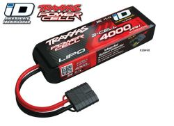 4000MAH 11,1V 3-ZELLEN 25C TRAXXAS LIPO MIT ID-STECKER