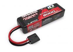 5000MAH 11,1V 3-ZELLEN 25C TRAXXAS LIPO MIT ID-STECKER