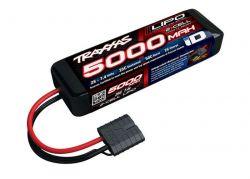5000MAH 7,4V 2-ZELLEN 25C TRAXXAS LIPO MIT ID-STECKER