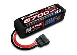6700MAH 14,8V 4-ZELLEN 25C TRAXXAS LIPO MIT ID-STECKER