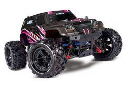 LATRAX TETON 4X4 PINK RTR +12V-LADER+AKKU 1/18 4WD MONSTER TRUCK BRUSHED