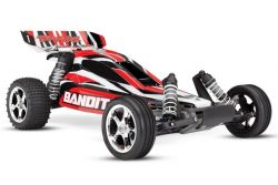 TRAXXAS BANDIT ROTX BUGGY RTR MIT AKKU/+12V LADER 1/10 2WD BUGGY BRUSHED