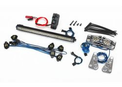 LICHTER-SET LAND ROVER DEFENDER MIT POWER-SUPPLY FÜR 8011 TRAXXAS