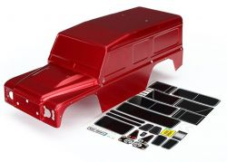 Karo, Land Rover Defender, rot +Decals KARO, LAND ROVER DEFENDER, ROT +DECALS TRAXXAS TRX-4