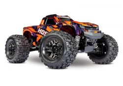 NEU TRAXXAS HOSS 1:10 RTR TSM SR VXL-3S REGLER OHNE AKKU/LADER 1/10 MONSTER-TRUCK BRUSHLESS ORANGE
